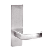 ML2050-NSM-629 Corbin Russwin ML2000 Series Mortise Half Dummy Locksets with Newport Lever in Bright Stainless Steel