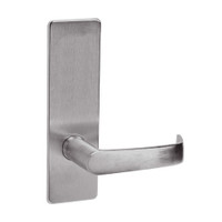 ML2050-NSM-630 Corbin Russwin ML2000 Series Mortise Half Dummy Locksets with Newport Lever in Satin Stainless