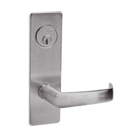 ML2068-NSM-630 Corbin Russwin ML2000 Series Mortise Privacy or Apartment Locksets with Newport Lever in Satin Stainless