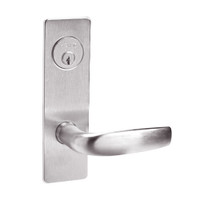 ML2048-CSM-629 Corbin Russwin ML2000 Series Mortise Entrance Locksets with Citation Lever and Deadbolt in Bright Stainless Steel