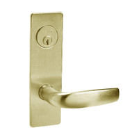 ML2059-CSM-606 Corbin Russwin ML2000 Series Mortise Security Storeroom Locksets with Citation Lever and Deadbolt in Satin Brass