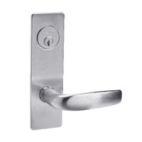 ML2059-CSM-626 Corbin Russwin ML2000 Series Mortise Security Storeroom Locksets with Citation Lever and Deadbolt in Satin Chrome