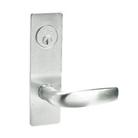 ML2067-CSM-618 Corbin Russwin ML2000 Series Mortise Apartment Locksets with Citation Lever and Deadbolt in Bright Nickel