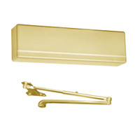 351-P9-EAB Sargent 351 Series Powerglide Door Closer with Regular Duty Parallel Arm in Brass Powder Coat
