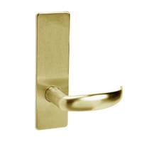 ML2010-PSM-606 Corbin Russwin ML2000 Series Mortise Passage Locksets with Princeton Lever in Satin Brass