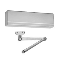 351-PH10-EN-LH Sargent 351 Series Powerglide Door Closer with Heavy Duty Friction Hold Open Parallel Arm in Aluminum Powder Coat