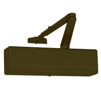 1431-O-EB Sargent 1431 Series Powerglide Door Closer with O Standard Arm in Bronze Powder Coat