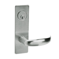 ML2067-PSM-619 Corbin Russwin ML2000 Series Mortise Apartment Locksets with Princeton Lever and Deadbolt in Satin Nickel