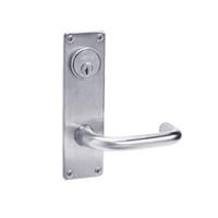 ML2057-LWN-626 Corbin Russwin ML2000 Series Mortise Storeroom Locksets with Lustra Lever in Satin Chrome