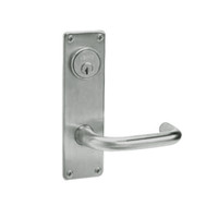 ML2024-LWN-619 Corbin Russwin ML2000 Series Mortise Entrance Locksets with Lustra Lever and Deadbolt in Satin Nickel