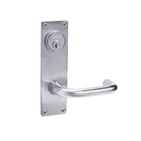 ML2024-LWN-626 Corbin Russwin ML2000 Series Mortise Entrance Locksets with Lustra Lever and Deadbolt in Satin Chrome