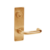 ML2059-LWN-612 Corbin Russwin ML2000 Series Mortise Security Storeroom Locksets with Lustra Lever and Deadbolt in Satin Bronze