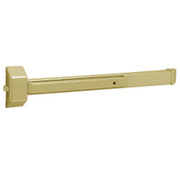3828F-EAB Sargent 30 Series Reversible Rim Exit Device in Brass