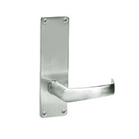 ML2050-NSN-618 Corbin Russwin ML2000 Series Mortise Half Dummy Locksets with Newport Lever in Bright Nickel