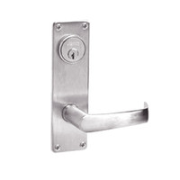 ML2051-NSN-629 Corbin Russwin ML2000 Series Mortise Office Locksets with Newport Lever in Bright Stainless Steel