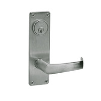 ML2002-NSN-619 Corbin Russwin ML2000 Series Mortise Classroom Intruder Locksets with Newport Lever in Satin Nickel