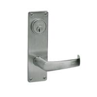 ML2024-NSN-619 Corbin Russwin ML2000 Series Mortise Entrance Locksets with Newport Lever and Deadbolt in Satin Nickel
