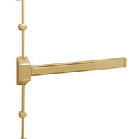 12-3727E-EP Sargent 30 Series Reversible Fire Rated Vertical Rod Exit Device in Sprayed Satin Bronze