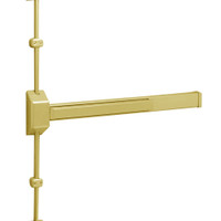 12-3727E-EAB Sargent 30 Series Reversible Fire Rated Vertical Rod Exit Device in Brass