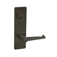 ML2052-ESM-613-LH Corbin Russwin ML2000 Series Mortise Classroom Intruder Locksets with Essex Lever in Oil Rubbed Bronze