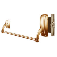 9910-LHR-10 Sargent 90 Series Exit Only Mortise Lock Exit Device in Satin Bronze
