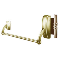 9910-RHR-04 Sargent 90 Series Exit Only Mortise Lock Exit Device in Satin Brass