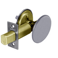 28-489-26D Sargent 480 Series Thumbturn Auxiliary Deadbolt Lock with Blank Plate in Satin Chrome