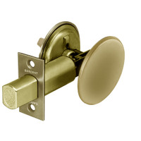 28-489-04 Sargent 480 Series Thumbturn Auxiliary Deadbolt Lock with Blank Plate in Satin Brass