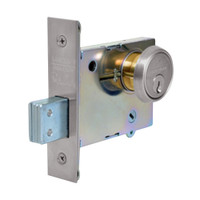 4874-32D Sargent 4870 Series Double Cylinder Mortise Deadlock in Satin Stainless Steel