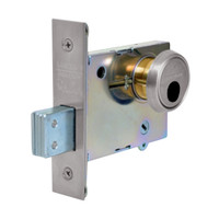 LC-4874-32D Sargent 4870 Series Double Cylinder Mortise Deadlock Less Cylinder in Satin Stainless Steel