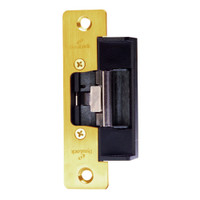 1604L-US3 DynaLock 1600 Series Electric Strike for Low Profile in Bright Brass