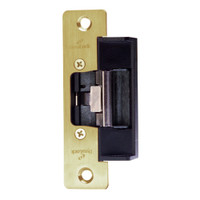1604L-US4 DynaLock 1600 Series Electric Strike for Low Profile in Satin Brass