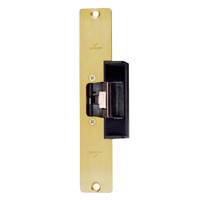 1608L-US3 DynaLock 1600 Series Electric Strike for Low Profile in Bright Brass