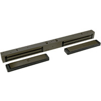 2282-US10B DynaLock 2280 Series Double SlimLine Electromagnetic Lock for Outswing Door in Oil Rubbed Bronze