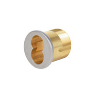 CR1070-114-A02-6-626 Corbin Mortise Interchangeable Core Housing with Straight Cam in Satin Chrome Finish