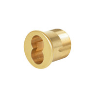 CR1070-138-A04-6-605 Corbin Mortise Interchangeable Core Housing with DL4000 Deadlock Cam in Bright Brass Finish
