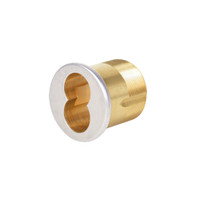 CR1070-138-A06-6-625 Corbin Mortise Interchangeable Core Housing with Schlage L9000 Cam in Bright Chrome Finish
