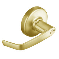 CL3151-NZD-605 Corbin CL3100 Series Vandal Resistant Entrance Cylindrical Locksets with Newport Lever in Bright Brass Finish