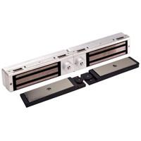 3121C-DYN-US28 DynaLock 3101C Series Delay Egress Electromagnetic Lock for Double Outswing Door with DYN in Satin Aluminum