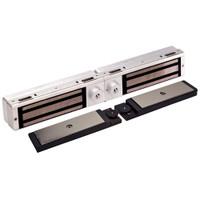 3121C-DSM-DYN-US28 DynaLock 3101C Series Delay Egress Electromagnetic Lock for Double Outswing Door with DSM and DYN in Satin Aluminum
