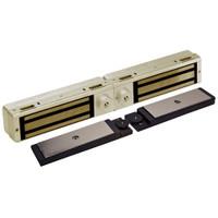 3121C-DSM2-DYN2-US4 DynaLock 3101C Series Delay Egress Electromagnetic Lock for Double Outswing Door with DSM and DYN in Satin Brass