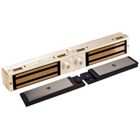 3121C-DSM2-DYN2-US10 DynaLock 3101C Series Delay Egress Electromagnetic Lock for Double Outswing Door with DSM and DYN in Satin Bronze