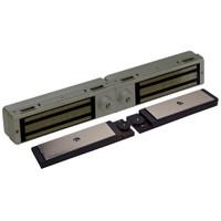 3121C-DSM2-DYN2-US10B DynaLock 3101C Series Delay Egress Electromagnetic Lock for Double Outswing Door with DSM and DYN in Oil Rubbed Bronze