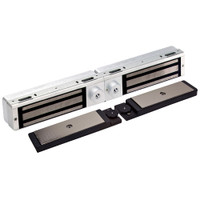 3121C-DSM2-DYN2-US26 DynaLock 3101C Series Delay Egress Electromagnetic Lock for Double Outswing Door with DSM and DYN in Bright Chrome