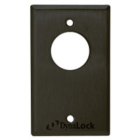 7024-US10B-LED DynaLock 7000 Series Keyswitches Momentary 2 Double Pole Double Throw with Bi-Color LED in Oil Rubbed Bronze