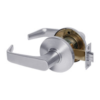 9K30N15DSTK626 Best 9K Series Passage Heavy Duty Cylindrical Lever Locks with Contour Angle with Return Lever Design in Satin Chrome