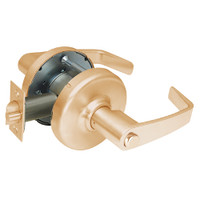 CL3320-NZD-612 Corbin CL3300 Series Extra Heavy Duty Privacy Cylindrical Locksets with Newport Lever in Satin Bronze Finish
