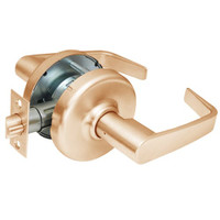 CL3810-NZD-612 Corbin CL3800 Series Standard-Duty Passage Cylindrical Locksets with Newport Lever in Satin Bronze Finish
