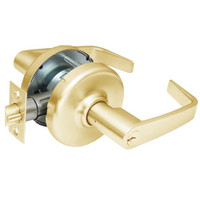 CL3861-NZD-605 Corbin CL3800 Series Standard-Duty Office Cylindrical Locksets with Newport Lever in Bright Brass Finish