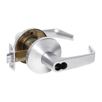 9K37W15LS3625 Best 9K Series Institutional Cylindrical Lever Locks with Contour Angle with Return Lever Design Accept 7 Pin Best Core in Bright Chrome